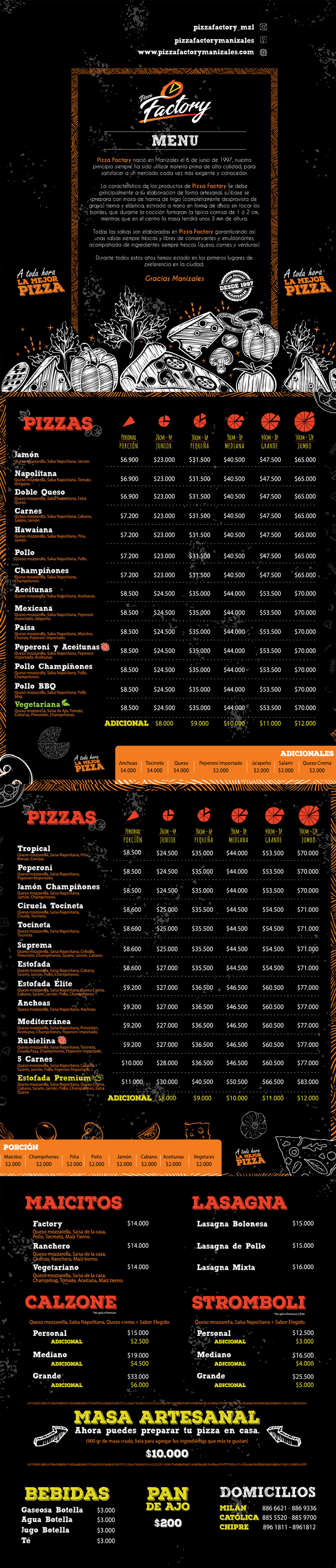 pizza factory manizales
